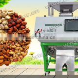 2017 hot sales almond and apricot kernels full color sorter with RGB ccd sensor