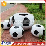 Garden decor football fiberglass sculpture for sale NTRS-068LI