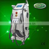 Pigmented Spot Removal OPT E-light Ipl Rf Nd Yag Laser / Shr And Ipl Laser Hair Removal Machine Armpit / Back Hair Removal