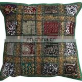 Manufacturer Cotton Hand Embroidered Cushion Pillow Covers