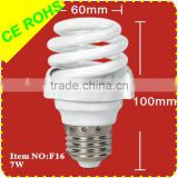 Full Spiral Energy Efficient Lighting (3w-30w T4 8000H)