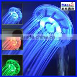 manufactuer wholesales Color spa shower bathroom faucets (SF-HSLED0402A)