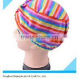 Colorful Sleep Cap and Hair-drying Hat