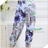 Ladies breeches Bamboo fiber Printed Patterns