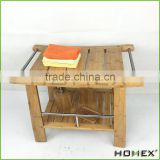Made from Quality Moso Bamboo Bath Bench/Homex_BSCI