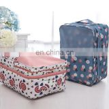 Lightweight Custom Storage Traveling Tote Shoe Bags with Two Layers