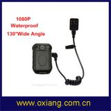 Law Enforcement 16m 130 Degree Wide Angle 1080P Police Body Worn Video Camera (OX-ZP605)