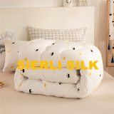 cotton shell quilt , cotton quilt with polyester filling , high quality cotton duvet , cotton comforter