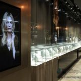 Jewelry store design Display fixtures suppliers by Shenzhen JE furniture for Luxury Steel counters and Glass showcase