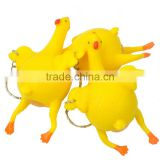 wholesale Small toys spoof vent chicken Tricky funny strange new toy under laying hens crowded