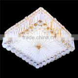 square ceiling light,crystal ceiling light for wedding decor