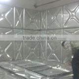 Stainless steel lined galvanized steel water tank