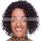 fashion afro curly synthetic short wig