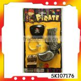skull pirate eye patch pirate rings with EN71