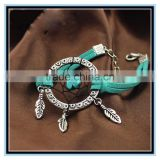 2015 factory price dreamcather bracelet friendship bracelet