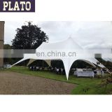 aluminum outdoor double peak star tent for party wedding events