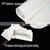 PP battery separator for lead-acid battery