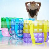 Inflatable bubble shopping bag