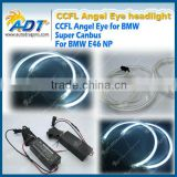 Top quality auto lighting system 145 mm color changing angel eyes for BMW for E46 NP