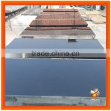 High Quality Natural Solid Black Granite Fireplace Hearth Slabbed Hearths