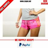 Breathable high quality women running shorts