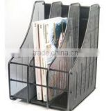 Metal Mesh File Box Magazine Holder
