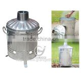 Garden galvanized 15L small waste incinerator
