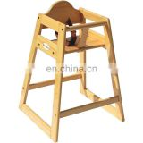 Wholesale wooden Children Restaurant 3 in 1 Baby Feeding High Chair