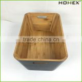 Bamboo Tools Storage Box Toys Storage Box Homex BSCI/Factory