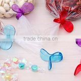 Plastic promotional Butterfly Bag seal clips