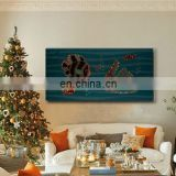 Fashion led oil painting wall hanging pictures for home decor
