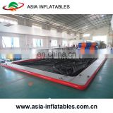 Portable Swimming Pool With Protective Anti Jellyfish Netting Enclosure, Inflatable Pool for Yachts