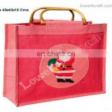CHRISTMAS BAG WITH CANE HANDLE