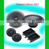 car speaker with 25mm tweeter car sound accessories part good quality component speaker with 5 inch