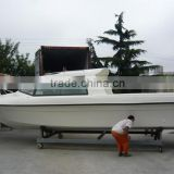 NEW 8.8m/9.8m fiberglass leisure yacht and fishing boat