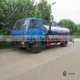 DONGFENG 4*2 Vacuum Fecal Suction Truck for Sale 10000 Liters