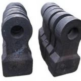 Hammer of Crusher Made of High Manganese Steel Casting