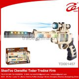 2015 battery plastic sniper rifle toy gun,toy sniper