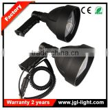 Outdoor super light weight CREE 10W LED handheld searchlight camping light hunting spotlight 5JG- NFC140-15W