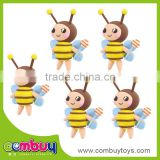 Kids diy handmade magic clay doll honey bee toys
