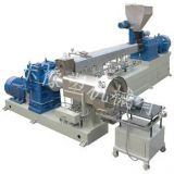 2568pvc cable granule making machine with twin screw extruder
