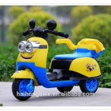 Factory electric 6V battery moto car mini yellow people electric plastic motorcycle EVA tire wheel for kids