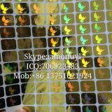 3D Mini Dove Visa hologram sticker for visa card Skype:simonuyl