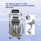 E6S E-Light+RF+ND YAG Laser Tattoo Removal Machine Multifunction IPL Shr Hair Removal Beauty Equipment Shrink Trichopore