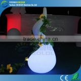 GLACS Control RGB Color Rechargeable Plastic Floor Lamp with LED Light
