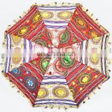 Summer Multi Vintage Umbrella