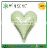 Simple design Valentine's Day decorations ceramic heart