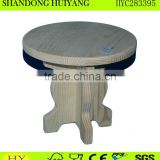 FSC pine wood stool wholesale