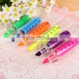 Syringe highlighter pen , promotional Syringe marker pen