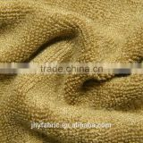 China supplier 100% cotton terry towel Interlock fabric